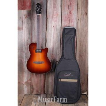 Godin acoustic guitar strings martin A6 martin acoustic strings Ultra martin guitar strings Acoustic acoustic guitar martin Electric guitar strings martin Guitar Chambered Body Cognac Burst with Gig Bag
