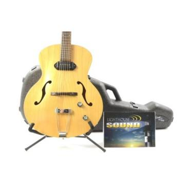 Godin martin guitars 5th guitar martin Avenue martin guitar strings acoustic P-90 martin Archtop martin acoustic guitars Electric Guitar- Natural w/ Nice Godin Case