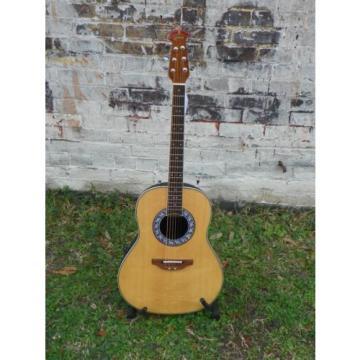 Buy Ovation 1627VL-4 1627VL4 Vintage Lyrachord Shallow Ac/El Guitar ...