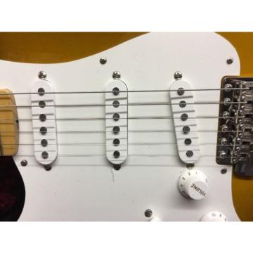 Fender martin guitar American martin guitar strings Vintage martin guitar accessories '56 martin guitars acoustic Stratocaster martin strings acoustic Electric Guitar 2 Tone Sunburst Lefty!!