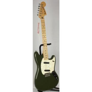New! martin guitar Fender martin strings acoustic MIM acoustic guitar strings martin Offset martin acoustic guitar Mustang martin guitar strings Maple Neck Electric Guitar - Olive Green