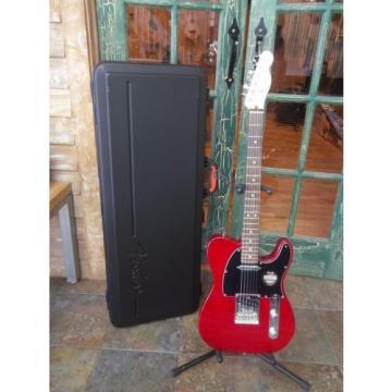Fender martin guitar strings American martin guitar strings acoustic Standard acoustic guitar martin Telecaster martin guitar accessories Electric martin acoustic guitars Guitar in Crimson Red Trans w/Case