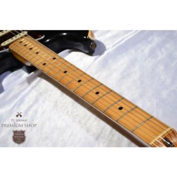 Fender martin guitars acoustic 1975 martin guitar STRATOCASTER martin guitar accessories Modify martin guitar case Refnish guitar martin Black Used Guitar Free Shipping #g1720