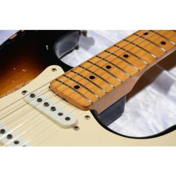 "Fender martin acoustic guitar Japan martin acoustic strings 1993-1994 dreadnought acoustic guitar ST57-117 martin guitar accessories ""Custom martin acoustic guitar strings Edition"" Used Electric Guitar F/S EMS"