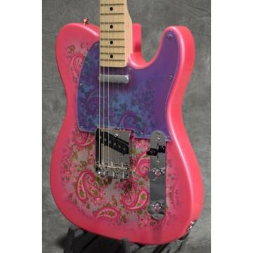 Fender martin guitar case Japan martin guitar strings Exclusive martin strings acoustic Classic martin guitar 69 martin d45 Telecaster Pink Paisley Electric Guitar F/S