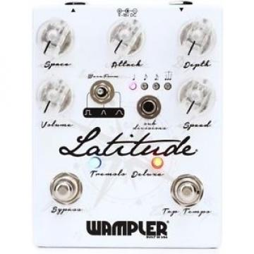 Wampler martin strings acoustic Latitude dreadnought acoustic guitar Deluxe martin guitars acoustic Tremolo martin guitar Guitar acoustic guitar strings martin Effects Pedal w/ Tap-Tempo - Mint In Box
