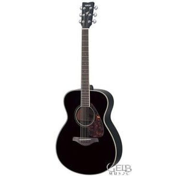 Yamaha guitar strings martin FS720S martin acoustic guitar strings BL martin guitar Acoustic dreadnought acoustic guitar Guitar, martin acoustic guitars Black - FS720S-BL #1 image