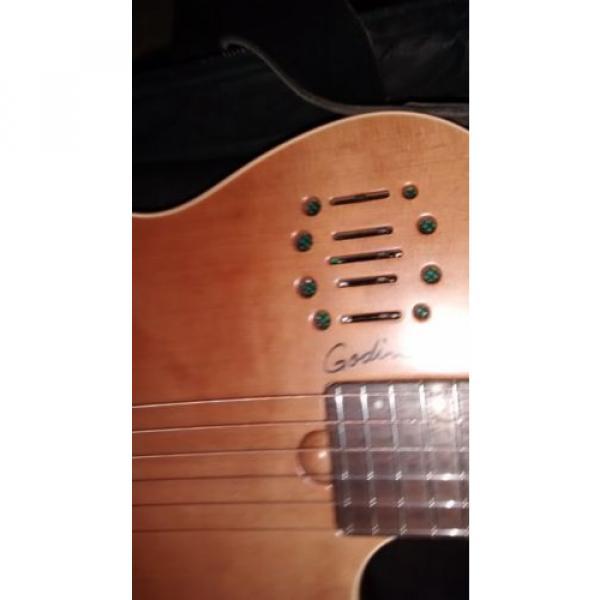 Godin martin acoustic guitars Multiac martin guitar strings acoustic Duet martin guitar case nylon martin acoustic guitar strings string guitar martin Guitar #2 image