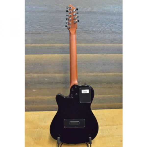 "Godin acoustic guitar martin A10 guitar strings martin Black martin guitar accessories Steel martin d45 HG martin guitar strings acoustic medium ""SF"" 10-String SA El.-Acoustic Guitar w/ Bag #13342127 #3 image"