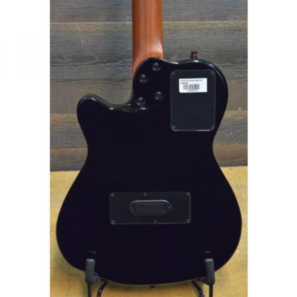"Godin acoustic guitar martin A10 guitar strings martin Black martin guitar accessories Steel martin d45 HG martin guitar strings acoustic medium ""SF"" 10-String SA El.-Acoustic Guitar w/ Bag #13342127 #4 image"