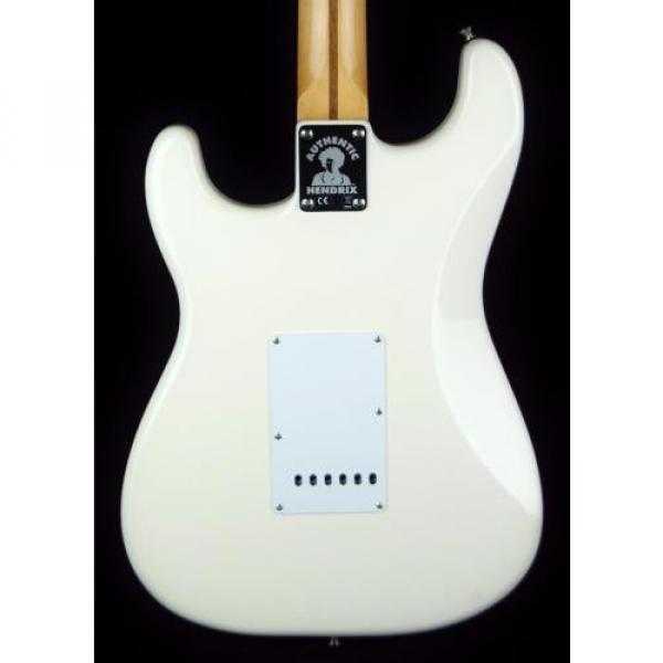New! martin guitar case Fender martin acoustic strings MIM martin strings acoustic Artist martin d45 Series martin acoustic guitar Jimi Hendrix Stratocaster Guitar - Olympic White #2 image