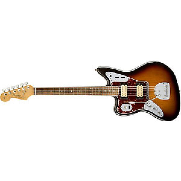 Fender martin d45 Kurt martin guitar strings acoustic Cobain martin guitars Jaguar martin acoustic guitars LH martin NOS 3 Tone Sunburst Solid-Body Electric Guitar #1 image