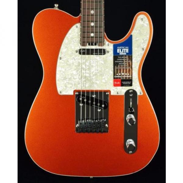 New! martin acoustic guitar Fender martin d45 USA guitar strings martin American martin guitars acoustic Elite acoustic guitar strings martin Telecaster Guitar w/ OHSC - Autumn Blaze Metallic #1 image