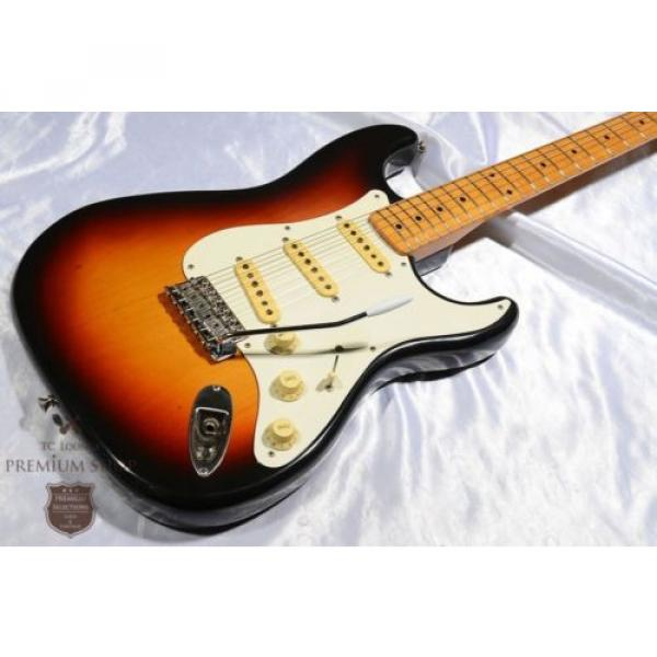 Fender martin guitars acoustic Japan martin guitar 1989-1990 guitar martin ST57-55 martin guitar accessories 3 guitar strings martin Tone Sunburst Used Electric Guitar F/S #1 image